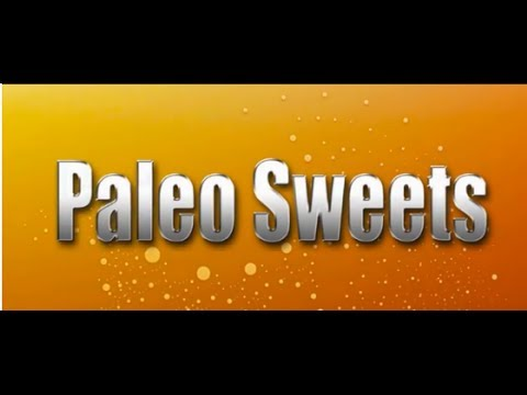 Paleo and the sweet tooth
